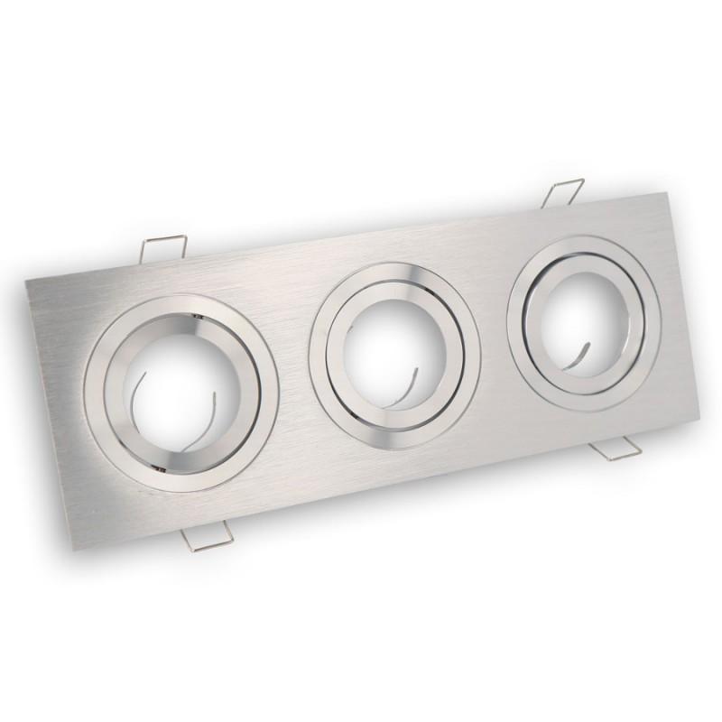Marco de montaje / anillo de montaje en el techo, plaza, aluminio, ce