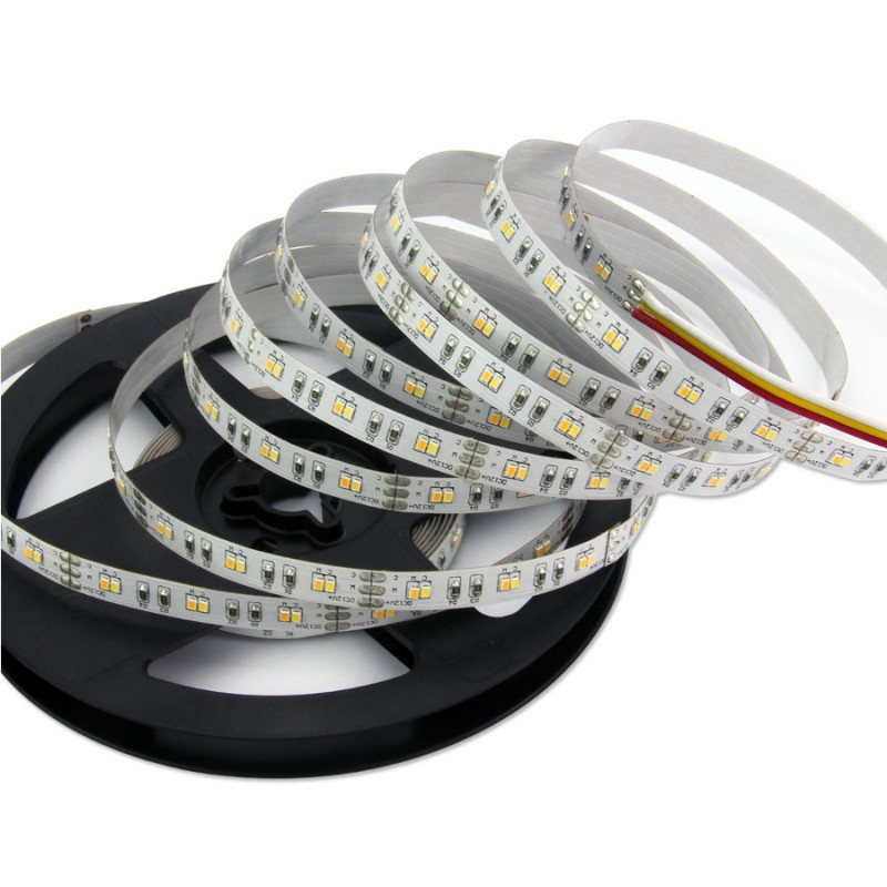 flexible led streifen leisten strips 5m 120 leds m. Black Bedroom Furniture Sets. Home Design Ideas
