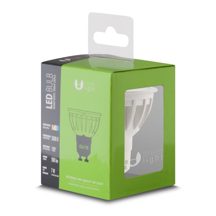 gu10 led leuchtmittel birne lampe bulb 7w 50w 230v 500 lumen warm. Black Bedroom Furniture Sets. Home Design Ideas