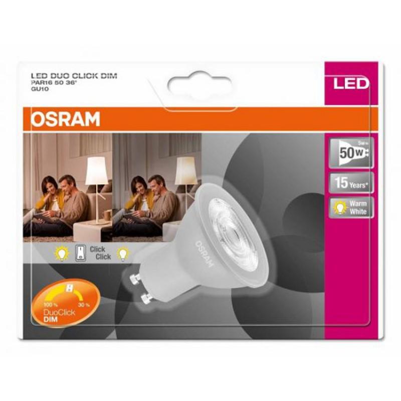 ... GU10 OSRAM LED Superstar Double Click DIM PAR16 50 36° / lighting Lamp Bulb,