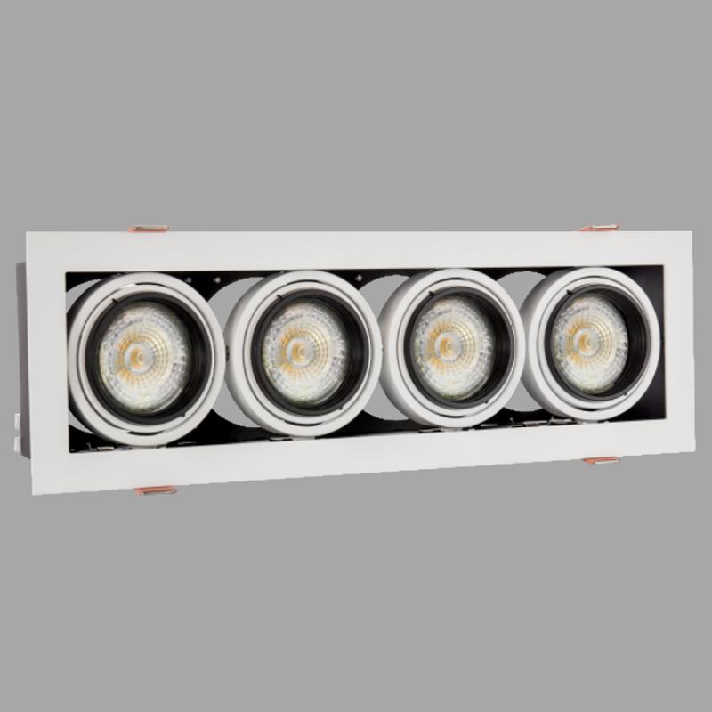 LED Einbaustrahler für Akzentbeleuchtung, Industrielle Einbaustr