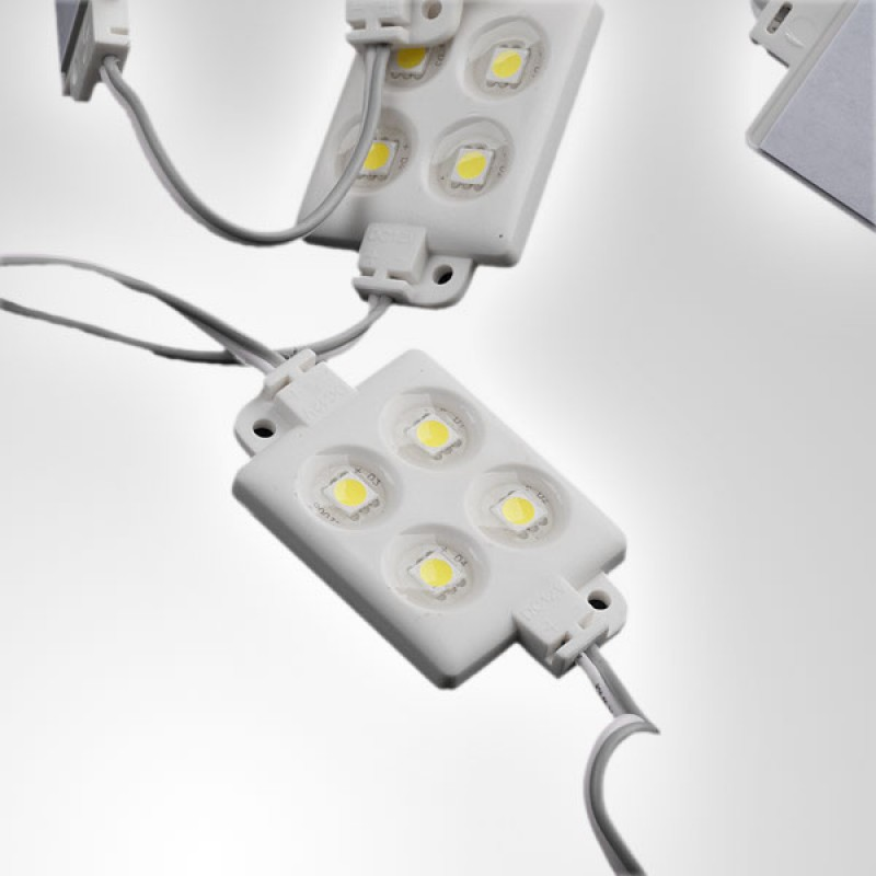 led module led module 4xpower smd leds wei wasserdicht 12v 1. Black Bedroom Furniture Sets. Home Design Ideas