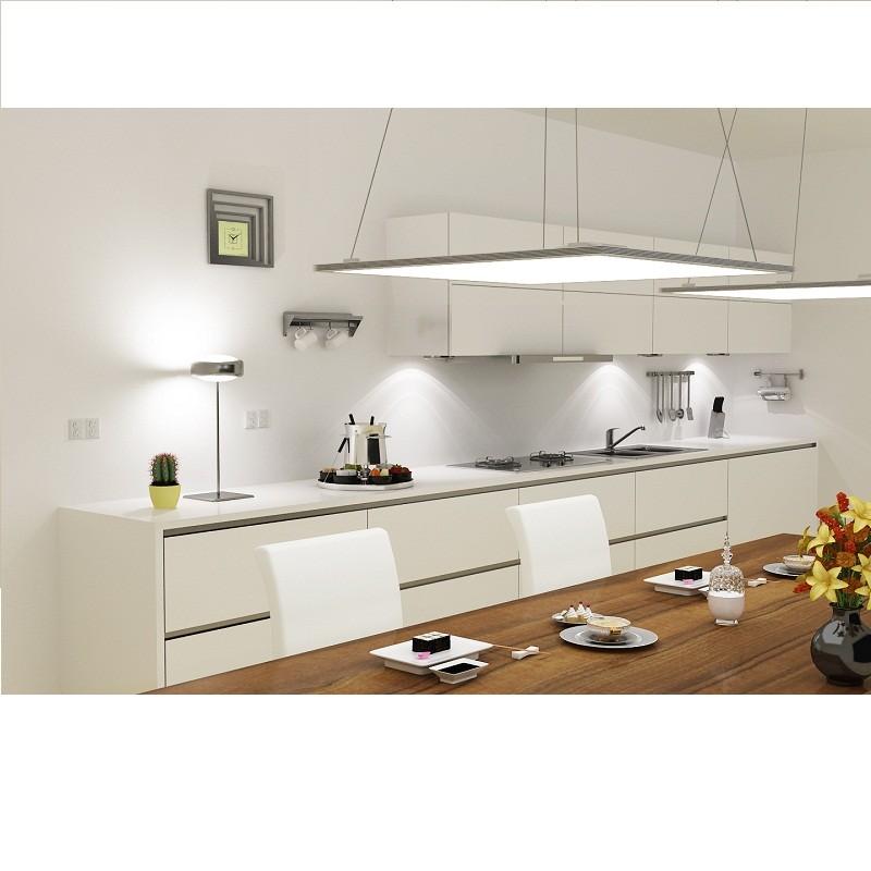 led panel ultraflach eckig zum ein und aufbau 300x300mm 15w 850 lu. Black Bedroom Furniture Sets. Home Design Ideas