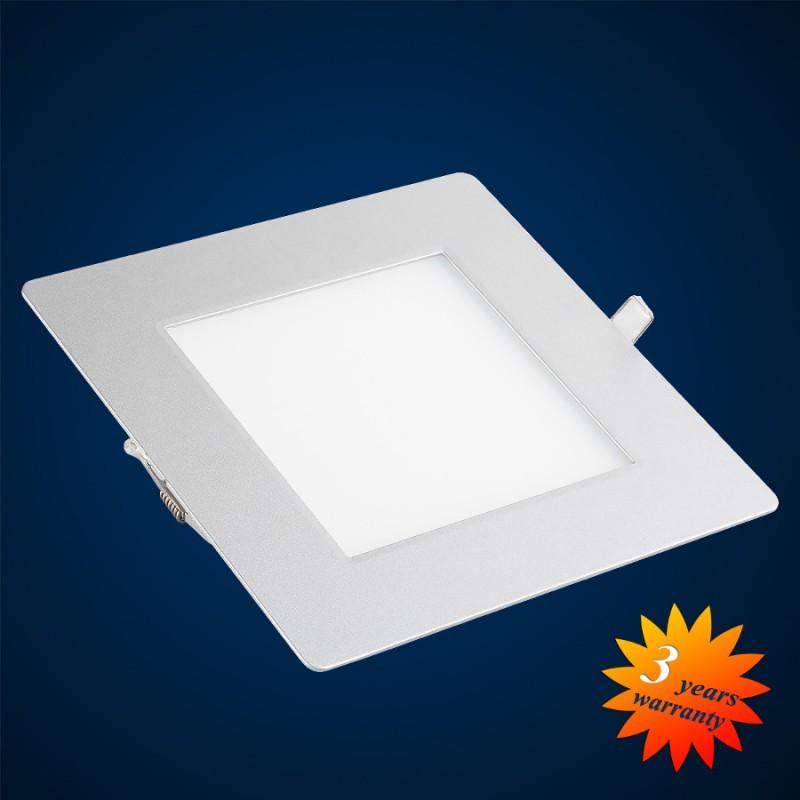 led panel ultra flat square for installing 223x223mm 21w 1501 lumen. Black Bedroom Furniture Sets. Home Design Ideas