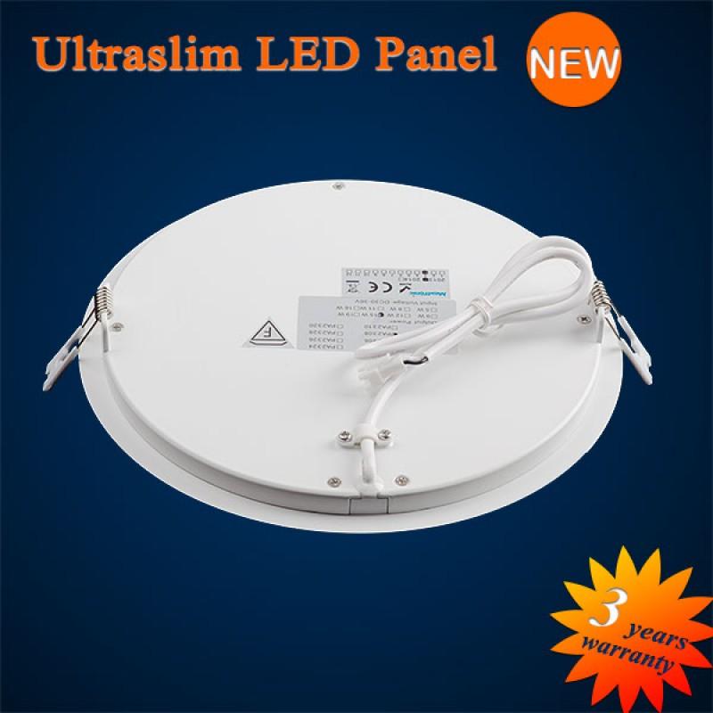 Pannelli ultrasottili a LED circa per incorporare 223,2 mm 15W 850 lu