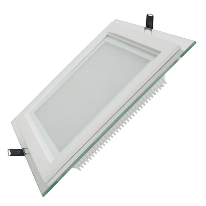 led panel eckig eco 200 mm 18w warmwei 1050 lumen neut. Black Bedroom Furniture Sets. Home Design Ideas