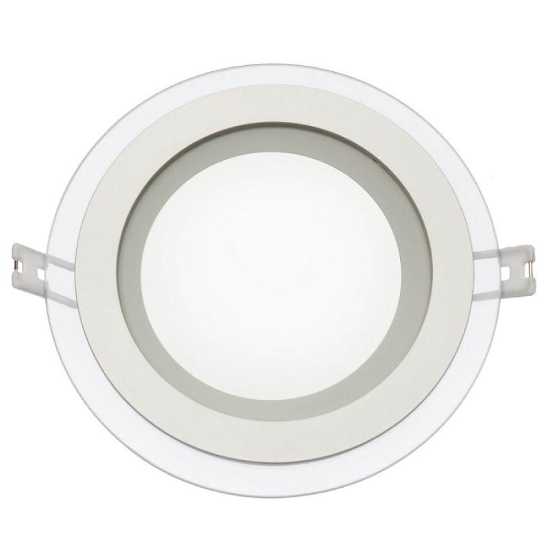 led panel rund eco 105 mm 6w warmwei 340 lumen neutralwei. Black Bedroom Furniture Sets. Home Design Ideas