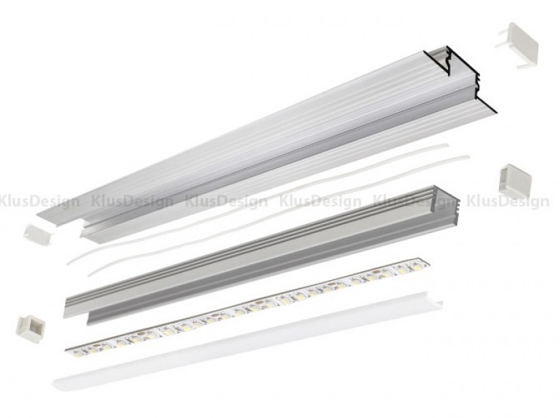 montageprofil montageleiste f r aluminium profile 001 003 k. Black Bedroom Furniture Sets. Home Design Ideas