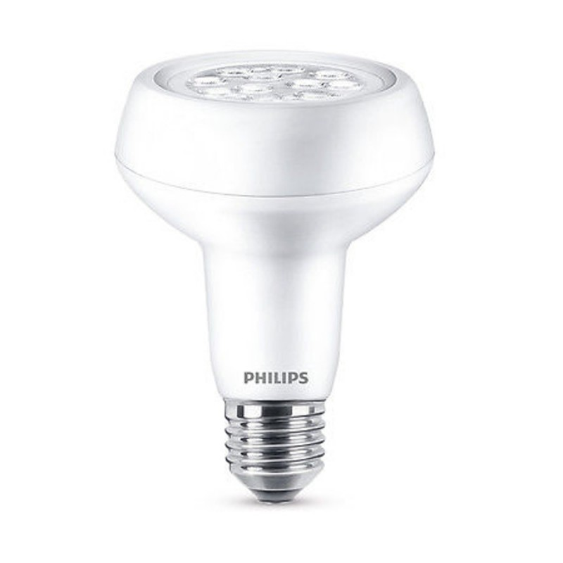 philips led r80 e27 reflektor led leuchtmittel birne lampe bulb gl u. Black Bedroom Furniture Sets. Home Design Ideas