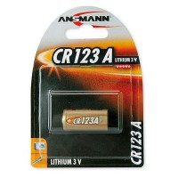 Ansmann CR123A 3V Lithium Photo Batterie