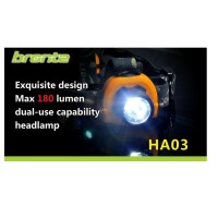 Bronte HA03 Stirnlampe mitCree XP-G R5 LED, max 180Lm
