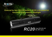 Bronte RC20 Cree XP-G R5 LED Taschenlampe, max. 240...