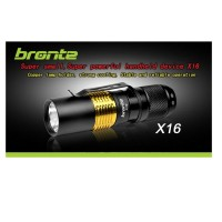 Bronte RC25s Cree XM-L U2 LED flashlight, max. 450 lm
