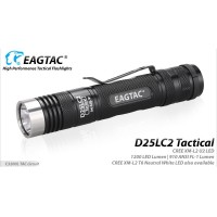 EAGTAC D25LC2 Tactical , Cree XM-L2 U2 LED, Taschenlampe,...