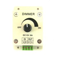 LED Dimmer 12V DC, 8A