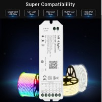 Mi-Light / 5 in 1 WiFi  RGB+CCT LED Strip Controller/...