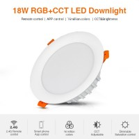 Mi-Light / RGB + CCT LED Downlight / 18W, Lumen: 1500 lm,...