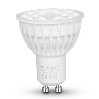 Mi-Light / RGB + CCT LED Spot /  GU10, 4W, Lumen:...