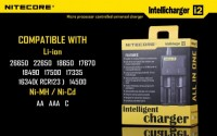 Nitecore Intellicharge i2 2014 Version für 2 Li-Ion / IMR...