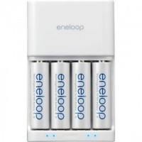 Sanyo Eneloop Charger MQR06 inkl. 4 AA 2000 mAh im Blister