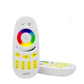 Mi-Light / 2.4GHz 4 Zone Touch RF RGBW Remote Control / RGBW Fernbedienung / Wireless Controller / RGBW: Lichtfarbe,  Dimmer / FUT096