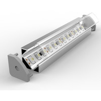 Set - Aluminium Profil P3-1, ideal für LED-Strips, Silber...