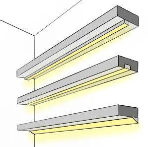 Montagearten für die Unterschrank Beleuchtung