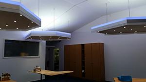 Ein Individuelles Beleuchtungskonzept für die Büroräume von Altbau Plus e.V. in Aachen